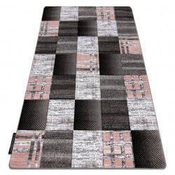 ALTER szőnyeg Siena négyzetek lugas szürke