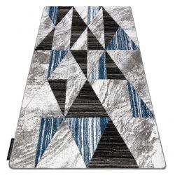 Килим ALTER Nano трикутники синій
