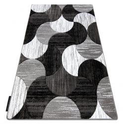 Tæppe ALTER geometrisk Musling grå