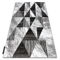 Covor ALTER Nano triunghiuri gri