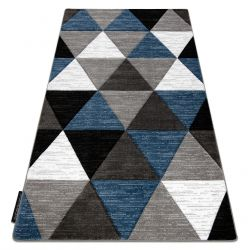 Ковер ALTER Rino трикутники синий