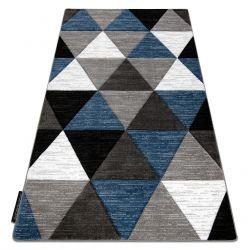 Teppich ALTER Rino Dreiecke blau