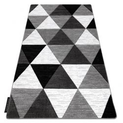 Килим ALTER Rino триъгълници сив
