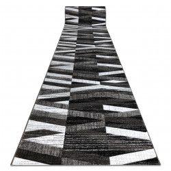 Tapis de couloir ALTER Bax des rayures gris