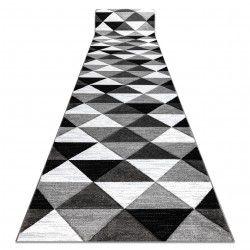 Tapis de couloir ALTER Rino triangle gris