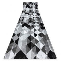 Tapis de couloir INTERO PLATIN 3D Triangles gris
