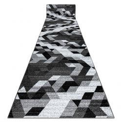 Tapis de couloir INTERO TECHNIC 3D diamants triangles gris