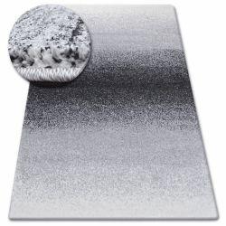 Килим SHADOW 8621 чорний /білий