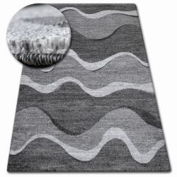 Carpet SHADOW 8649 black / light grey