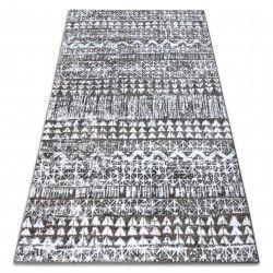 Carpet RETRO HE187 grey / cream Vintage