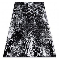 Carpet RETRO HE190 black / cream Vintage