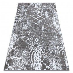 Carpet RETRO HE190 grey / cream Vintage