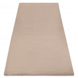 Carpet BUNNY taupe beige IMITATION OF RABBIT FUR