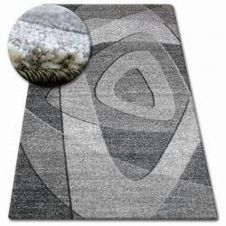 Tapis SHADOW 8594 noir / gris clair