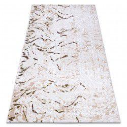 Carpet ACRYLIC DIZAYN 123 beige / green