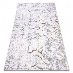 Teppich ACRYL DIZAYN 123 hellgrau / grün