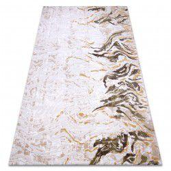 Carpet ACRYLIC DIZAYN 123 beige / yellow