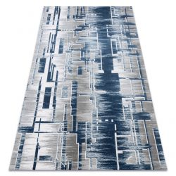 Carpet ACRYLIC USKUP Geometric 9481 blue