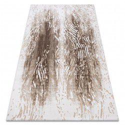 Teppich ACRYL USKUP Holz 9482 sahne / braun