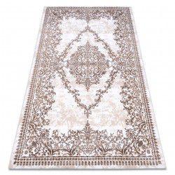 Teppich ACRYL DIZAYN 143 elfenbein / beige