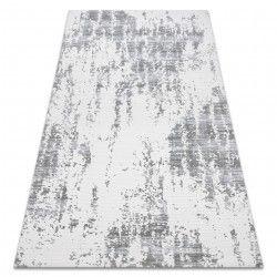 Teppich ACRYL USKUP Beton 9484 elfenbein / grau