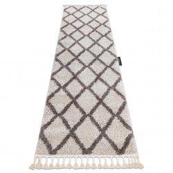 Szőnyeg, Futó szőnyegek BERBER TROIK krém - a konyhához és a folyosóra