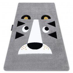 Tapis PETIT LION gris