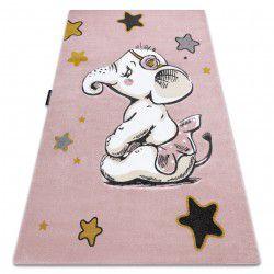Carpet PETIT ELEPHANT STARS pink