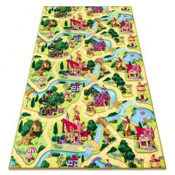 Carpet CANDY TOWN for children streets, city