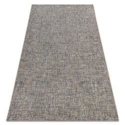 Sisal tapijt SISAL FORT 36202352 beige / blauw melange , mix kleur BOHO