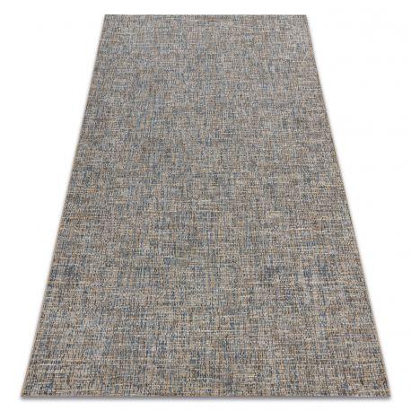 Carpet SISAL FORT 36202352 beige / blue plain color one-color melange