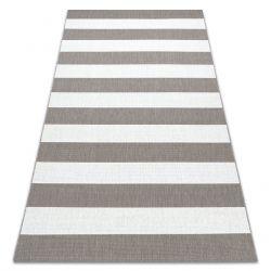 Sisal tapijt SISAL FLAT 48644686 Strepen wit beige