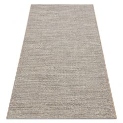 Sisal tapijt SISAL FORT 36201852 beige uniform , glad , enkele kleur BOHO