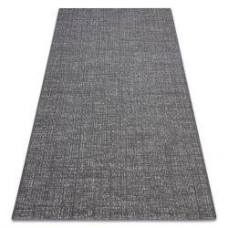 Sisal tapijt SISAL FORT 36203094 grijskleuring uniform , glad , enkele kleur BOHO
