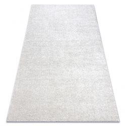 Carpet wall-to-wall SANTA FE cream 031 plain, flat, one colour