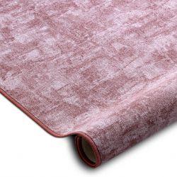 Wykładzina dywanowa SOLID brudny róż 60 BETON