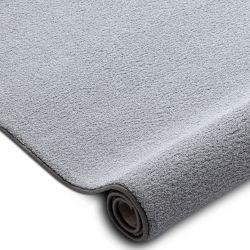 Passadeira carpete VELVET MICRO cinza 90 avião cor sólida