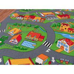 Tapete infantil estradas LITTLE VILLAGE