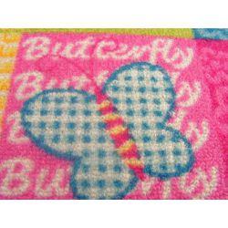 Detský koberec BUTTERFLY Motýľ