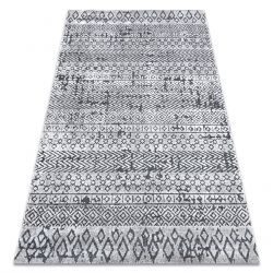SIERRA szőnyeg Structural G6042 lapos szövött világos szürke - geometriai, etnikai