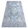 Koberec Structural SIERRA G8076 ploché tkané modrý / šedá
