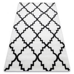 Carpet SKETCH - F343 cream/black trellis