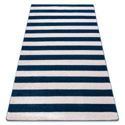 Sketch szőnyeg - F758 kék/fehér - Csíkok