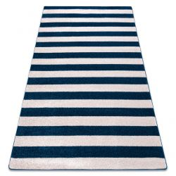 Teppich SKETCH - F758 blau/weiß - Gestreift