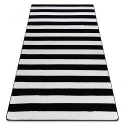 Tapete SKETCH - F758 branco/preto - Listrado