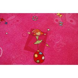 Dywan dziecięcy HAPPY róż