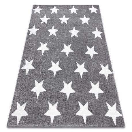 Carpet SKETCH - FA68 grey/white - Stars
