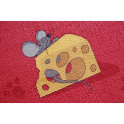 Carpet MICE red