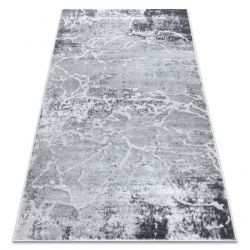 Tapete MEFE moderno 6182 Concreto - Structural dois níveis de lã cinza cinzento
