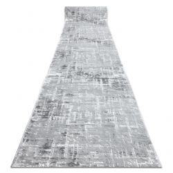 Runner Structural MEFE 8722 two levels of fleece grey / white